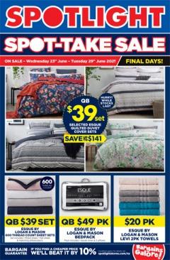 Spot-Take Sale