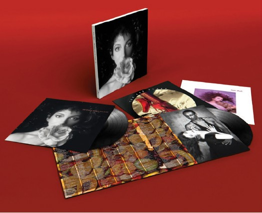 Kate Bush: Hounds of Love, the Sensual World, the Red Shoes Vinyl