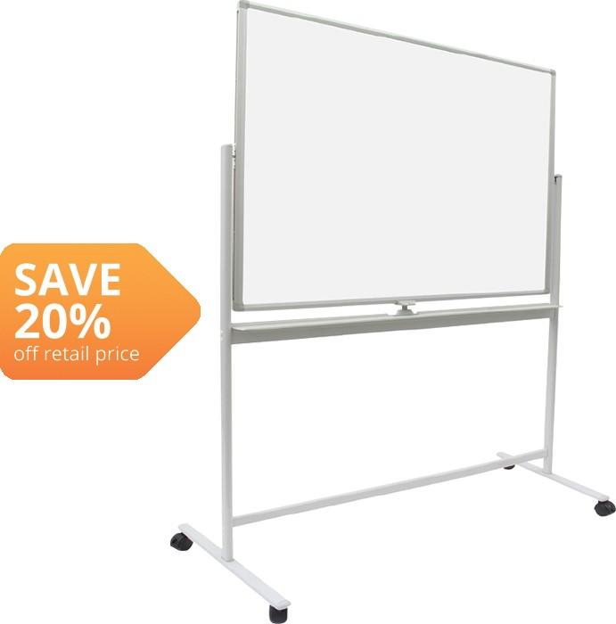 Litewyte Mobile Acrylic Magnetic Whiteboard