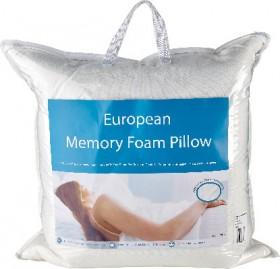 European-Memory-Foam-Pillow on sale