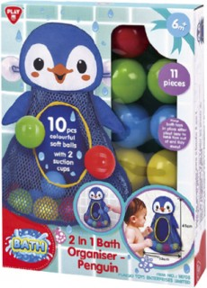 Playgo-Bath-Organiser-Penguin on sale
