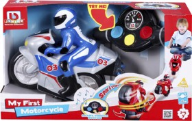 BB-Junior-My-First-Motorbike-Red-or-Blue on sale