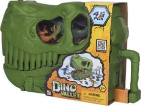 Dino-Valley-Skull-Bucket-45-Piece-Dinosaur-Playset on sale