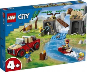 LEGO-City-Wildlife-Rescue-Off-Roader-60301 on sale