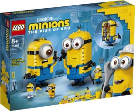LEGO-Brick-Built-Minions-And-Their-Lair-75551 on sale
