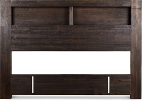 Byron-Bay-Queen-Headboard-with-Bookcase on sale