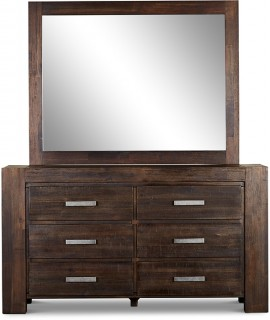 Byron-Bay-6-Drawer-Dresser-with-Mirror on sale
